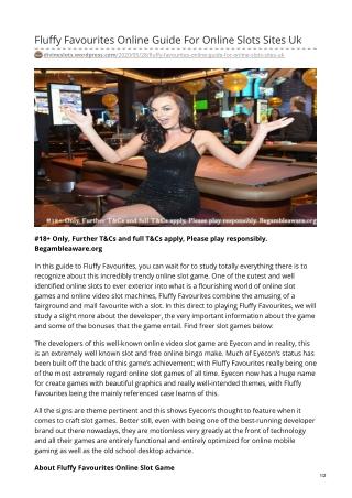 Fluffy Favourites Online Guide For Online Slots Sites Uk