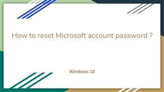Account Live password reset   account.live.com/password/reset