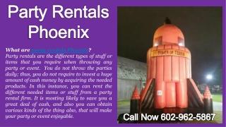 Party Rentals Phoenix