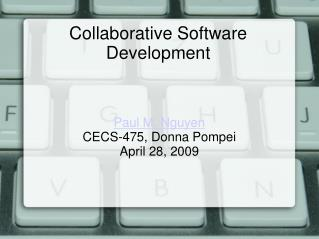Collaborative Software Development
