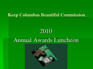 Keep Columbus Beautiful Commission