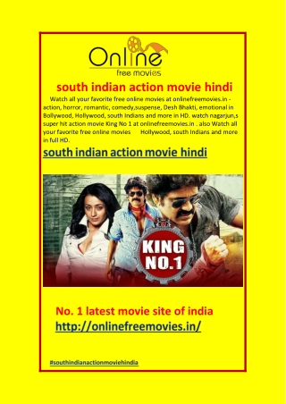 south indian action movie hindi
