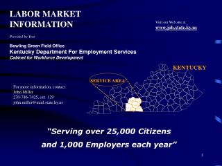 Kentucky Department for Employment Services Bowling Green Field Office
