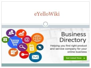 eYelloWiki - Local Business