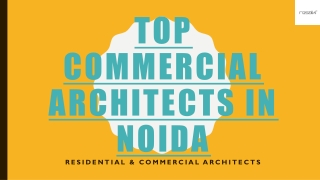Top Commercial Architects in Noida