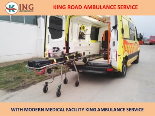 Top-Class King Ground Ambulance Service in Mokama and Sitamarhi