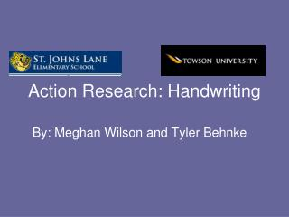 Action Research: Handwriting