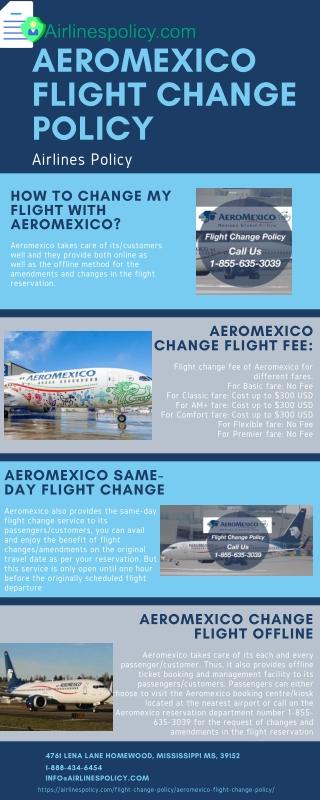 Aeromexico flight change policy