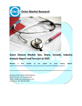 Snare Devices Market