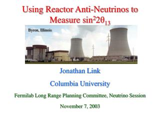 Using Reactor Anti-Neutrinos to Measure sin 2 2 θ 13