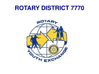 ROTARY DISTRICT 7770