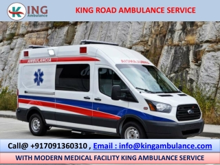 Life Support King Road Ambulance Service in Patna and Ranchi