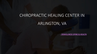 Chiropractic Healing Center in Arlington, VA