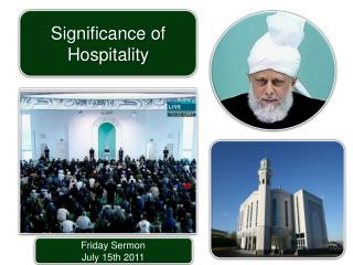 Friday Sermon July  15th  2011