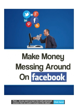 Get Paid Just For Posting on Facebook and other Social Media