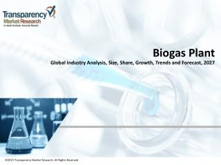 Biogas Plant Market Manufactures and Key Statistics Analysis 2019-2027