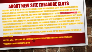 Treasure Slots - Open the Treasure Chest for up to 500 Free Spins