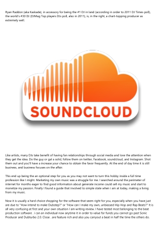 Which Will Work For Music Promotion? - Soundcloud Vs Youtube