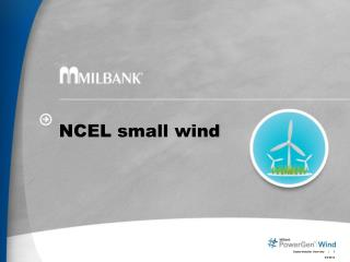NCEL small wind