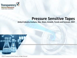 Pressure Sensitive Tapes Market Analysis and Industry Outlook 2019-2027