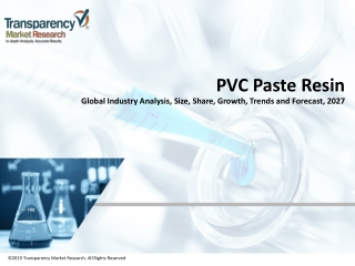 PVC Paste Resin Market Sales, Share, Growth and Forecast 2027