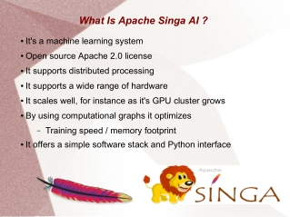 Apache Singa AI