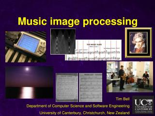 Music image processing