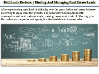 BoldLeads Reviews | Finding And Managing Real Estate Leads