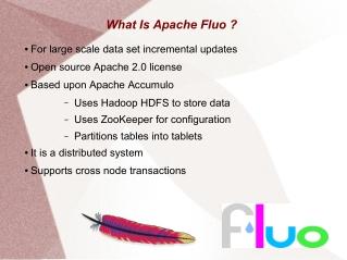 Apache Fluo