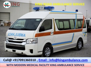 Book King Ground Ambulance Service in Patna and Darbhanga at Least Cost