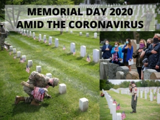 Memorial Day 2020 amid the coronavirus