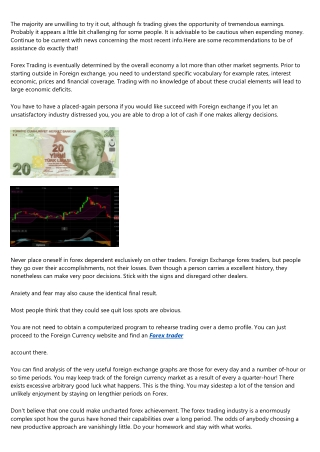 The Ideal Foreign Exchange Advice By Buying and selling Experts