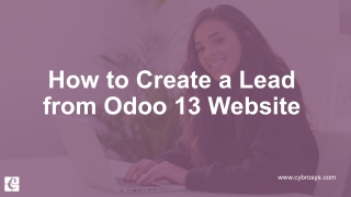How to Create a Lead from Odoo 13 Website