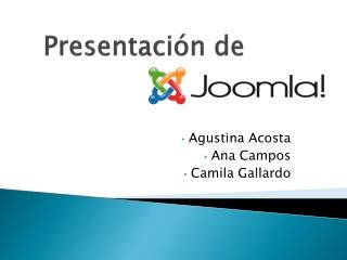 Presentacion sitio web