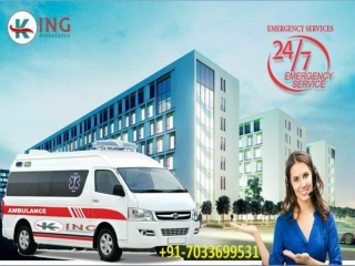 Get Medical Emergency Ambulance in Patna with All Amenities by king