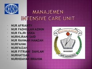 Power Point Manajemen ICU