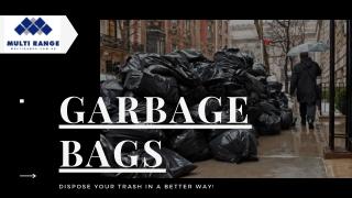 Heavy Duty Garbage Bags