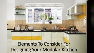 Popular types of modular kitchen styles