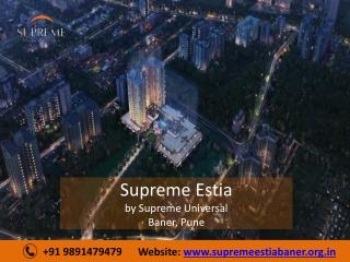 Supreme Estia in Baner Pune