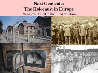 Nazi Genocide: The Holocaust in Europe