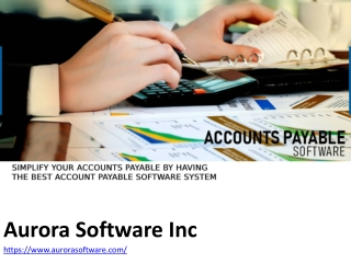 Simplify Your Accounts Payable By Having The Best Account Payable Software System
