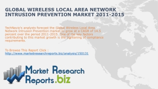 Global Wireless Local Area Network IPS Market 2011-2015