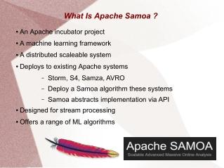 Apache Samoa ML