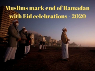 Muslims mark end of Ramadan with Eid celebrations