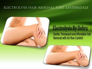 Electrolysis Hair Removal Fort Lauderdale