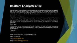 Realtors Charlottesville