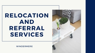 Windermere Relocation and Referral Services
