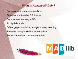 Apache MADlib AI/ML