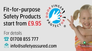 Hire a professional technician for installing the door hinge finger protector.