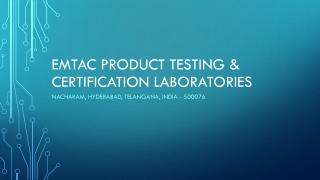 EMTAC Performance And Material Testing Laboratories
